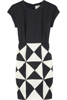 3.1 Phillip Lim mosaic patchwork dress $875US