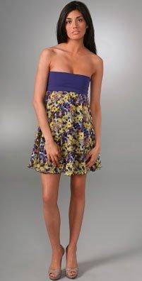 Alice + Olivia Terry fold over dress $264US at ShopBop.com