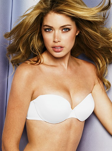 Fifth highest paid model Doutzen Kroes