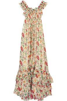 Diane von Furstenberg Carmen maxi dress $795US at Net-A-Porter