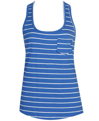 Forever 21 striped pocket tank $13.80CA