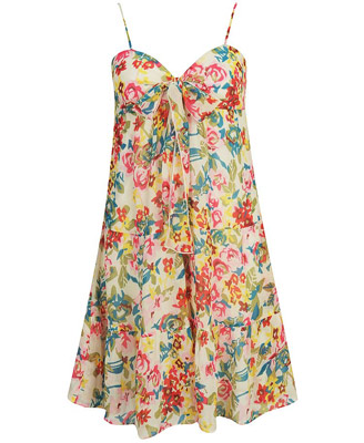 Forever 21 floral chiffon dress $19.80CA