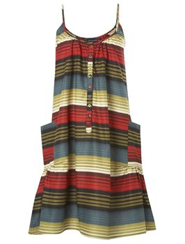 French Connection Broadwalk striped cami dress $49.99CA (was $78)