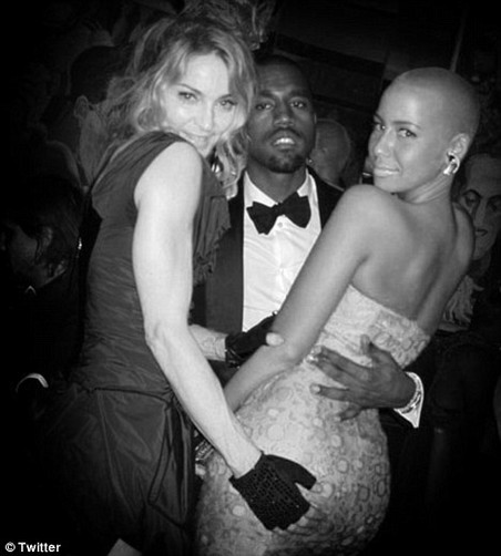 Madonna and Amber Rose