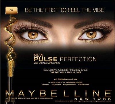 Maybelline Pulse Perfection Vibrating mascara