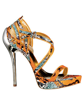Report Signature Limited-Edition snakeskin sandal