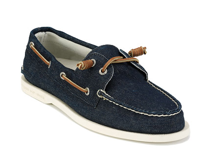Sperry Top-Sider denim boat shoe