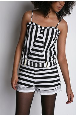 Urban Outfitters Insight stripe romper $39.99US (was $68)