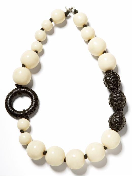 Banana Republic basket bead necklace $39USD