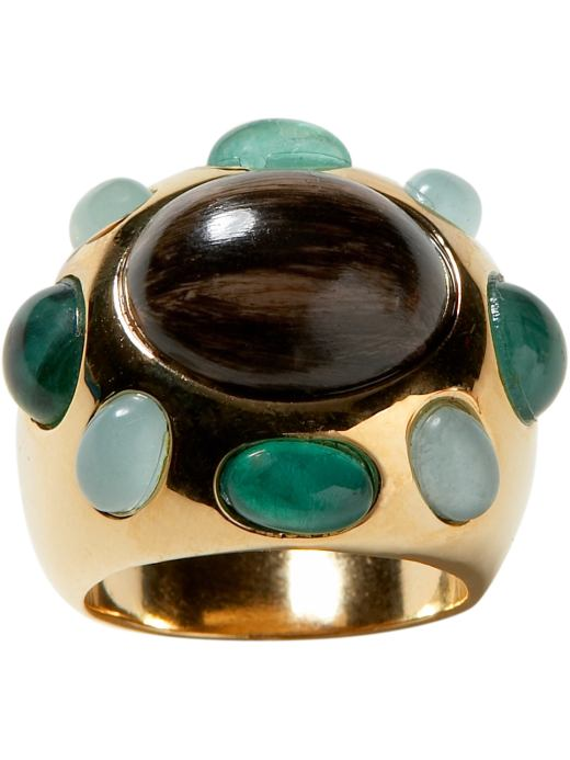 Banana Republic cabochon cube ring $49USD