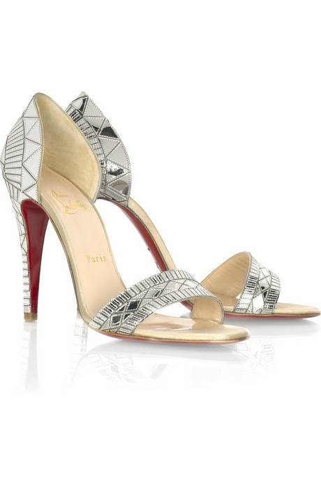 Christian Louboutin Galaxy Pass 100 sandals