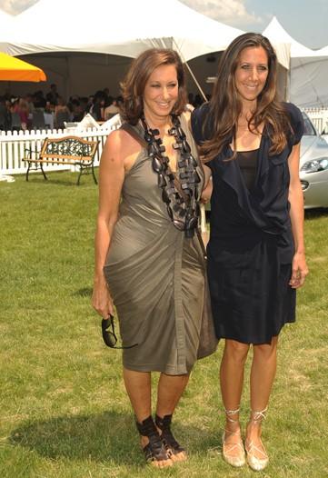 Donna Karan and Gabby Karan DeFelice