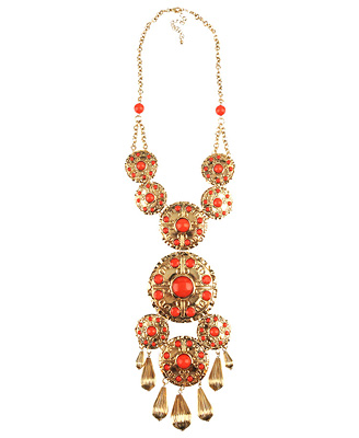 Forever 21 exquisite medallion necklace $13.80CAD