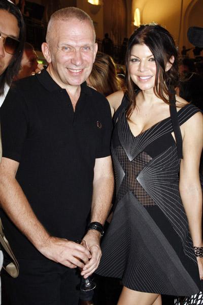 Fergie with Jean Paul Gaultier