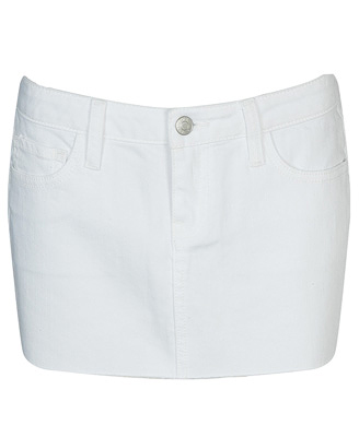 Forever 21 Celine cut-off denim skirt $23.80CAD