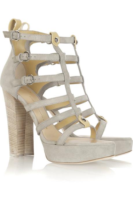 Giuseppe Zanotti platform gladiator sandals $875USD at Net-A-Porter.com