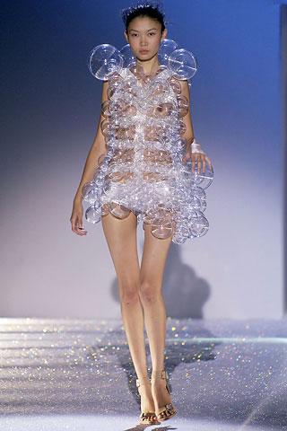 Hussein Chalayan bubble dress