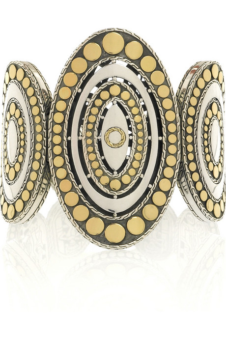 John Hardy oval dot cuff $1,995USD at Net-A-Porter