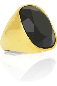 Kenneth Jay Lane jet cocktail ring. Was $70, Now $21
