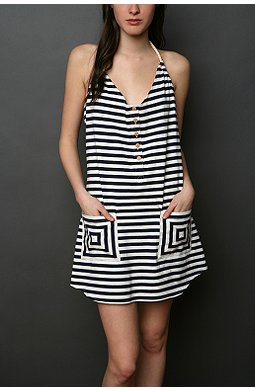 Lark & Wolff by Steven Alan striped dress $39.99USD (Was $68USD). Also available in Navy and Grey at Urban Outfitters