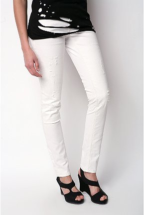 Levi's 421 destructed skinny jean $49.99USD (Was $68USD)