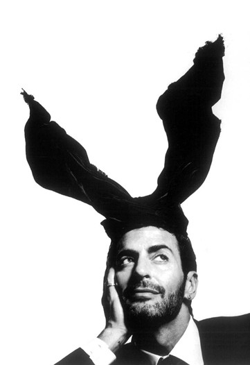 Marc Jacobs for in the now infamous Louis Vuitton rabbit ears