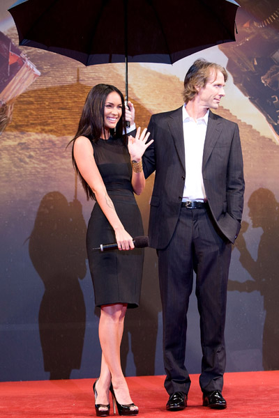 Megan Fox with Michael Bay