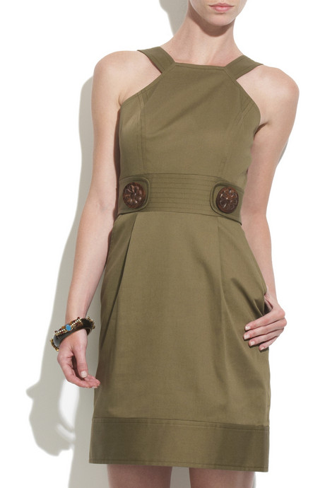 Milly stretch cotton dress $295USD at Net-A-Porter