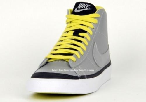 Nike Blazer Mid in Electrolime