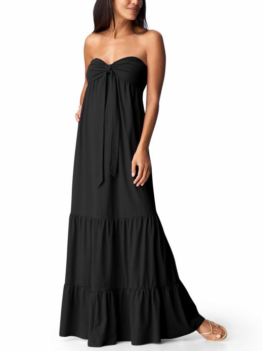 Old Navy tiered maxi tube dress $29.50CAD