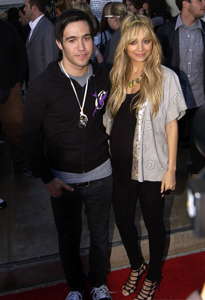 Nicole Richie (with Pete Wentz of Fall Out Boy)
