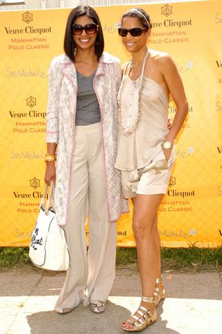 Rachel Roy (left) and Veronica Webb