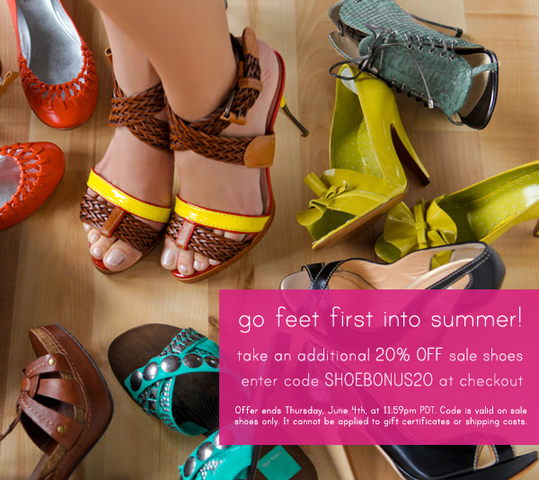 ShopBop 20% off Sale Shoes