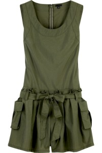Anna Sui nylon sleeveless rompersuit. Was $345, Now $241.50.