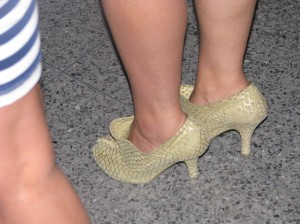 These heels remind me of these Christian Loubouting heels.