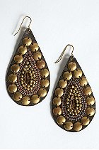Urban Outfitters studded leather earring $28USD