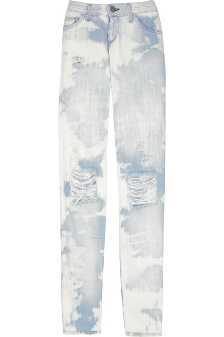 Current/Elliott The Skinny tie-dye jeans $265USD at Net-A-Porter