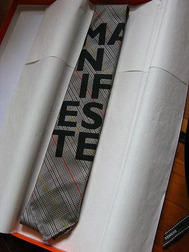 Fashion Nation Hermès MANIFESTE tie