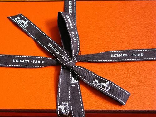 Fashion Nation Hermès package
