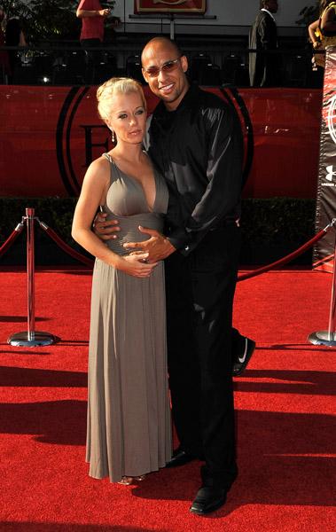 Kendra Wilkinson and fiance Hank Baskett