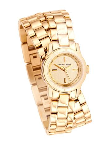 Michael Kors double strap watch