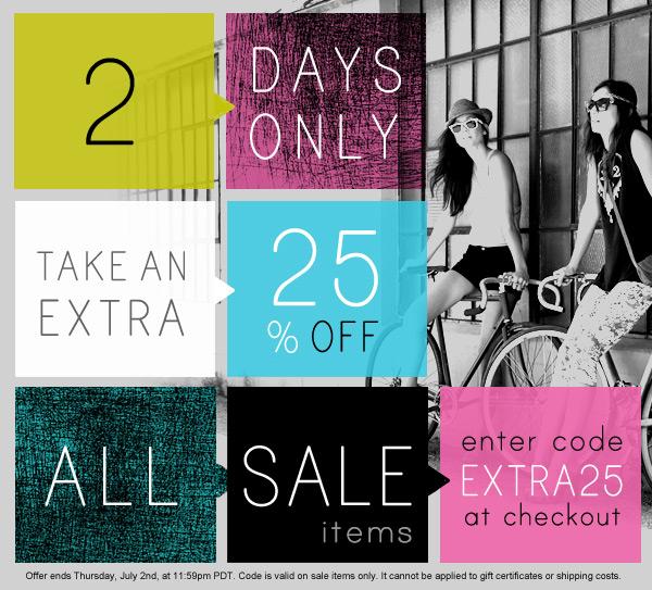 shopbop extra25