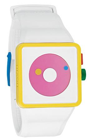 The Newton Mismatch watch $100USD at Karmaloop.com