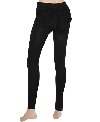 Back Ruffled Leggings $26.00CAD