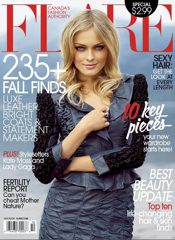 Flare October 2009 cover