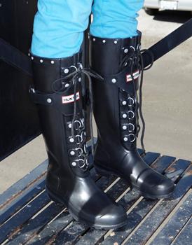 Hunter Douglas Festival lace-up boots