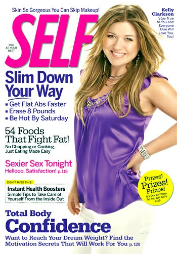 Kelly Clarkson Self magazine