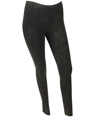 Mineral Wash Knit Leggings $12.80CAD