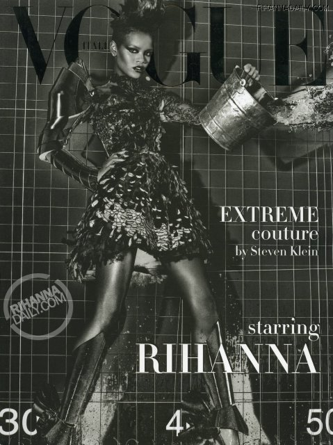 Rihanna for Vogue Italia