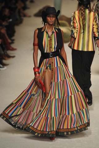 Yasmin Warsame for Hermes by Jean Paul Gaultier
